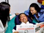 Hugo Chávez sa vrátil z Kuby do vlasti, na fotkách sa smeje