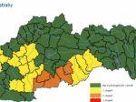 Slovensku hrozia povodne, hladiny riek stúpajú