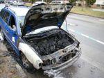 Bratislavskí hasiči mali horúcu noc, hasili tri autá