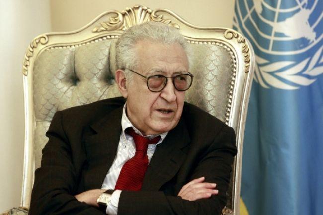 Vyslanec OSN Brahímí podporil al-Chatíbovo úsilie o dialóg
