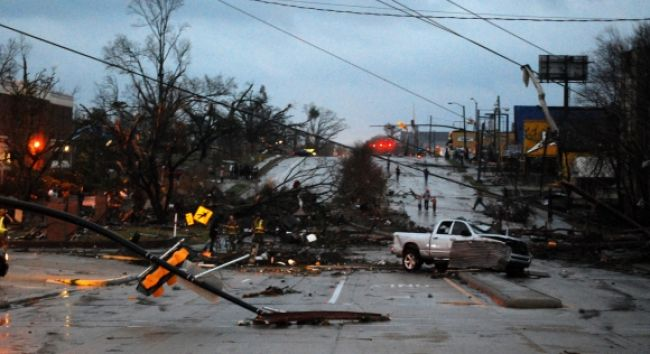 Tornáda v Mississippi a Alabame zničili desiatky budov