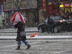 Severovýchod USA cez víkend zasiahla ďalšia snehová búrka