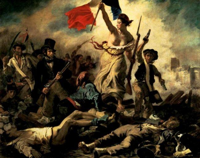 Zatkli ženu, ktorá počmárala slávny Delacroixov obraz