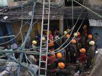Oheň zabíjal na trhu v Kalkate, vyžiadal si takmer 20 obetí