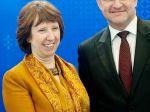 Catherine Ashtonová pochválila Lajčáka, poďakovala mu