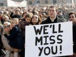 Obrazom: Pápežovi ďakovali desaťtisíce veriacich