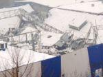 V Levoči sa zrútila strecha výrobnej haly