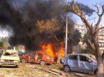 V Sýrii explodovalo auto, trhavina zatriasla ambasádou Ruska