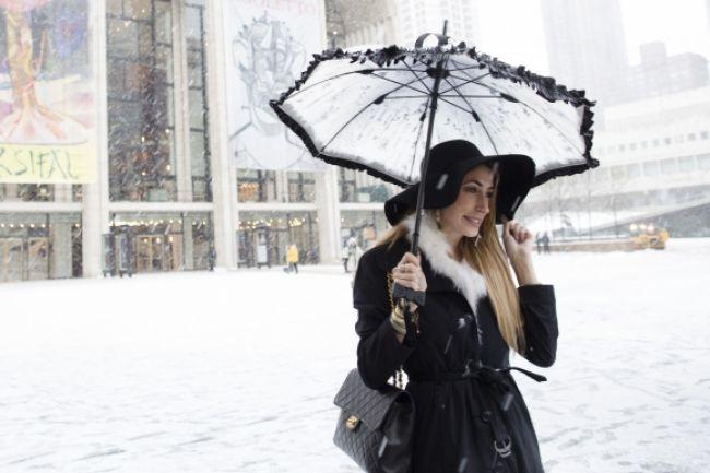Obrazom: Najlepšie fotografie, ktoré priniesla snehová búrka