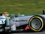 Brit Hamilton vyhral sobotňajšie testy v Barcelone