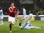 Video: Futbalisti AC Miláno zdolali Lazio rozdielom triedy