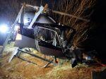 Do Váhu spadol vrtuľník, zahynul 14-ročný chlapec