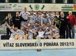 Suverénny Tatran Prešov obhájil Slovenský pohár