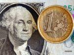 Euro oslabilo voči doláru, voči jenu sa jeho kurz nezmenil