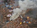 Obrazom: Takto cunami ničilo Japonsko pred dvomi rokmi