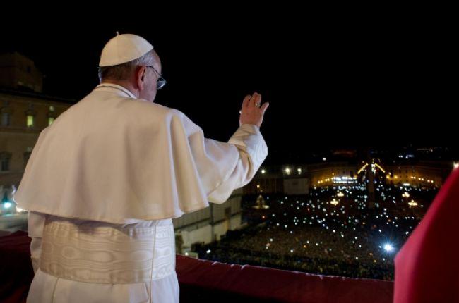 Hľadali ma na konci sveta, povedal v prvom vystúpení pápež