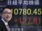 Japonský akciový trh v pondelok oslabil