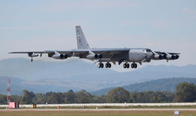 Nad juhokórejským nebom krúžia americké bombardéry