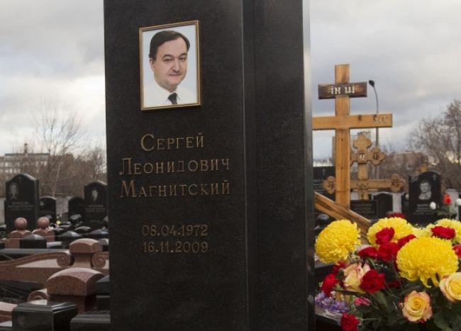 Ruské úrady zastavili vyšetrovanie Magnitského smrti