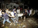 Výbuch bomby v pakistanskom utečeneckom tábore zabil 12 ľudí