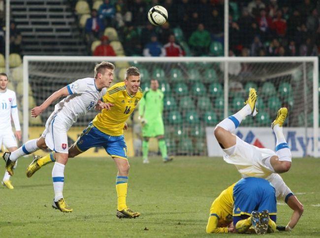 bc0eef860c4ad Slovenskí futbalisti remizovali s oslabeným Švédskom. Futbalisti slovenskej  reprezentácie ...