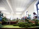 V Nitre otvorili najväčšiu výstavu modelov železníc