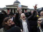Smrť Thatcherovej v Lodýne oslavovali stovky ľudí
