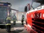 Pri požiari domu zahynula imobilná osoba