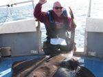 Rybár ulovil rekordnú raju s hmotnosťou 107 kilogramov