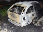 V Košiciach niekto úmyselne podpálil Škodu Fabia