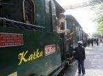 Historická železnička s parnou lokomotívou otvorila sezónu