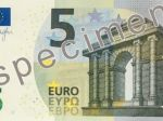 Máme nové bankovky v hodnote 5 eur