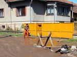 Silný prívalový dážď spôsobil na Slovensku záplavy