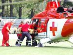 Motorkárom sa rýchla jazda nevyplatila, zasahoval vrtuľník