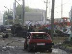V Dagestane vybuchli autá, o život prišlo najmenej osem ľudí