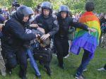 Homosexuáli pochodovali Kyjevom napriek hrozbám a zákazu