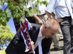 Ľudovít Kaník zasadil lipu a ohlásil kandidatúru na župana