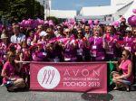 V Bratislave sa pochodovalo proti rakovine prsníka