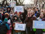 V Košiciach majú za život pochodovať desaťtisíce ľudí