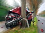 Mladý vodič vrazil autom do stromu, pri nehode zomrel