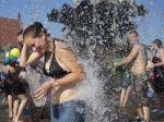 Horúčavy Slovákov opäť potrápia, osvieženie prinesú búrky