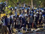 Turecká polícia rozohnala svadobčanov z parku Gezi