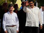 Prezidenti Kolumbie a Venezuely sa snažia o lepšie vzťahy