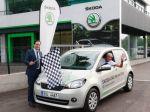 ŠKODA Citigo CNG na rekordnej jazde Európou
