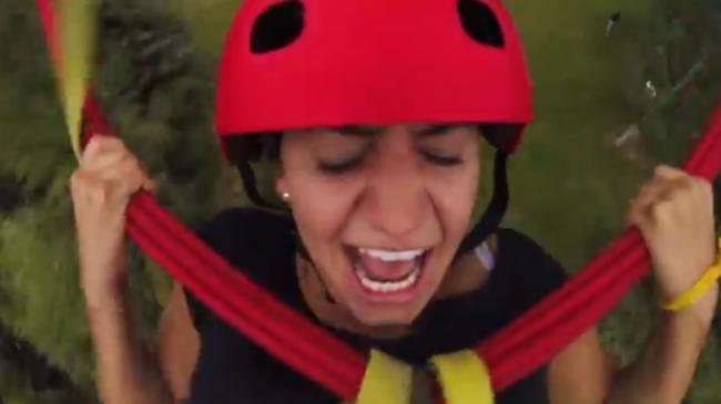 Video: Adrenalín na lane