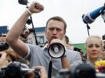 Putin očiernil Navaľného pred voľbami starostu Moskvy