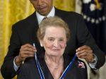 Albrightová dostane švédsku ľudskoprávnu cenu