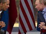 Polícia zhabala obraz Putina a Obamu s penismi a päsťami