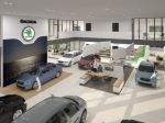 ŠKODA AUTO modernizuje svoje showroomy