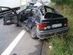 Smrteľná zrážka s kamiónom, vodič Renaultu nehodu neprežil